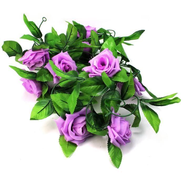 250cm guirlande artificielle feuille fleur f te art for Soldes fleurs artificielles