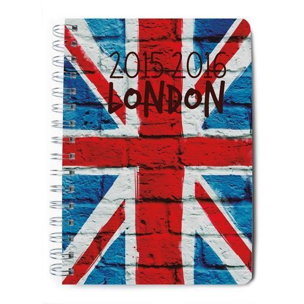 Agenda scolaire en semainier 2015/2016 London - Achat / Vente agenda ...