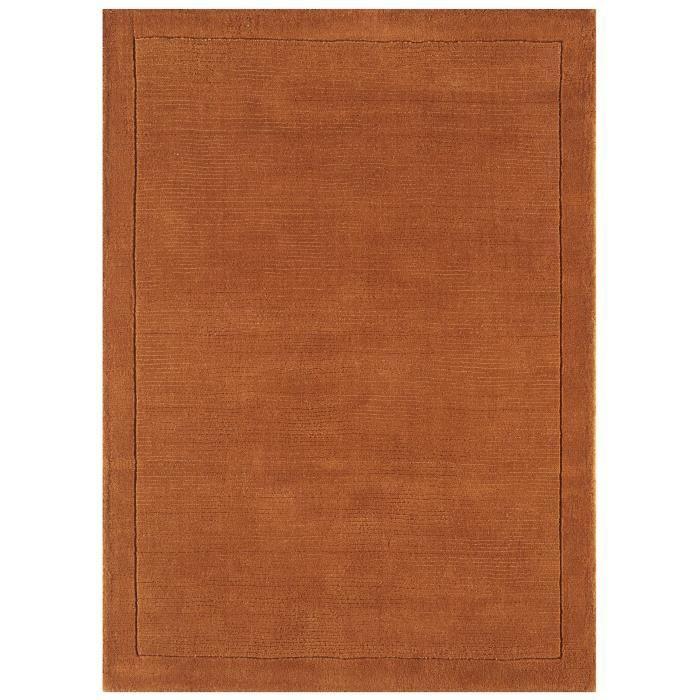 benuta tapis uni orange 300x400 cm achat vente tapis cdiscount. Black Bedroom Furniture Sets. Home Design Ideas