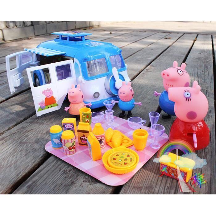 str figurine peppa pig jouet lot de 4 voiture de la famille achat vente voiture. Black Bedroom Furniture Sets. Home Design Ideas