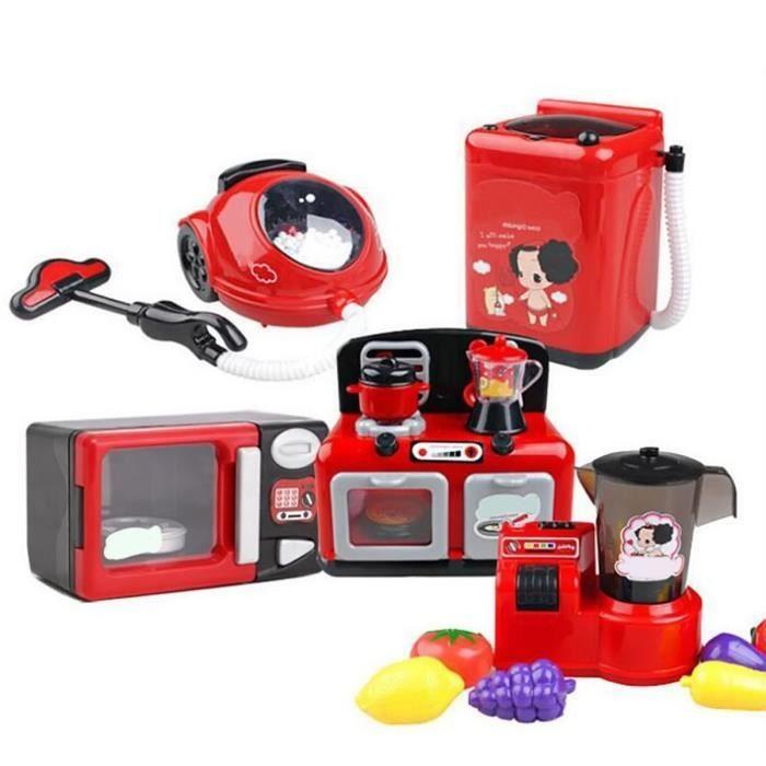 Vococal 6 morceaux de jouets de cuisine pour enfants ducatifs jouets avec son et lumi re - Jeux de cuisine de mickey ...