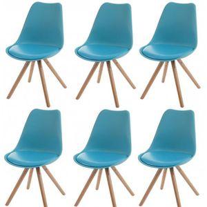 chaise salle a manger bleu achat vente chaise salle a manger bleu pas cher cdiscount. Black Bedroom Furniture Sets. Home Design Ideas