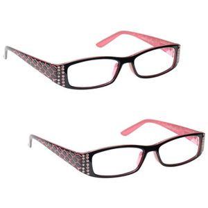 lunette loupe femme 2 5 achat vente pas cher cdiscount. Black Bedroom Furniture Sets. Home Design Ideas