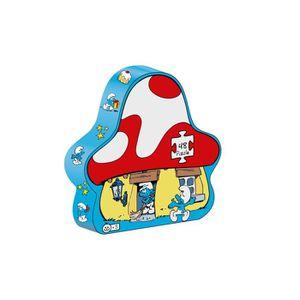PUZZLE SCHTROUMPF - Puzzle Maison Schtroumpfs - 48 pièces