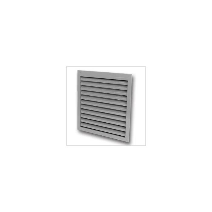 Grille de ventilation renson 411 400x300 mm achat vente vmc accessoir - Grille de ventilation hygroreglable ...
