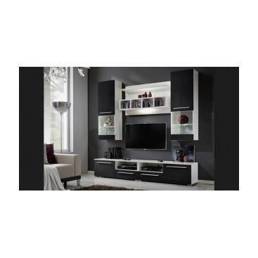 Meuble tv hifi design banc de salon cuisine int achat for Banc de tv design