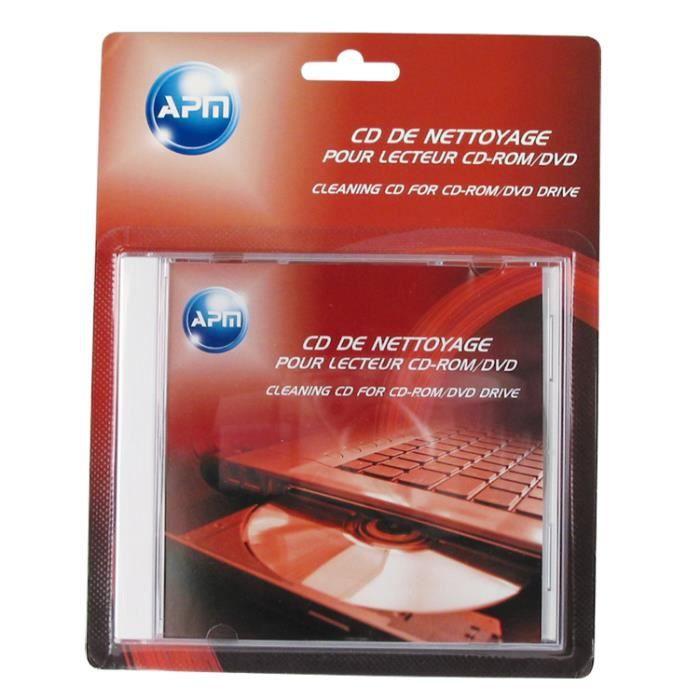 apm nettoyant pour lentille de lecteur cd dvd prix pas cher cdiscount. Black Bedroom Furniture Sets. Home Design Ideas