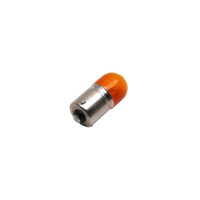 Ampoule lampe 12v 10w norme ry10w culot bau15s graisseur - Ampoule 12v 10w ...