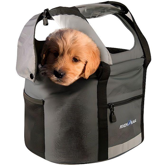 rixen und kaul doggy panier v lo pour chien noir prix pas cher les soldes sur cdiscount. Black Bedroom Furniture Sets. Home Design Ideas