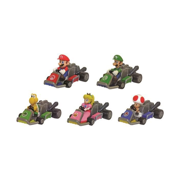 Mario kart 7 racers petite voiture friction achat - Personnage mario kart 7 ...
