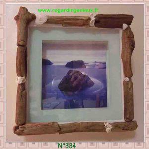 Decoration en bois flotte achat vente decoration en - Cadre en bois flotte decoration ...