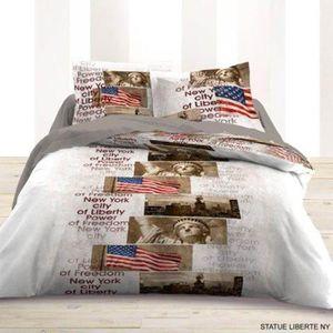 housse de couette liberty achat vente housse de couette liberty pas cher cdiscount. Black Bedroom Furniture Sets. Home Design Ideas
