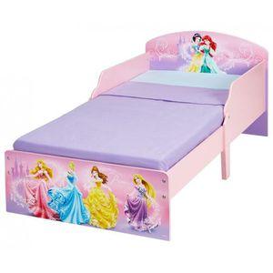 LIT COMPLET Lit Enfant 70 x 140 cm P'tit Bed Cosy Disney Princ