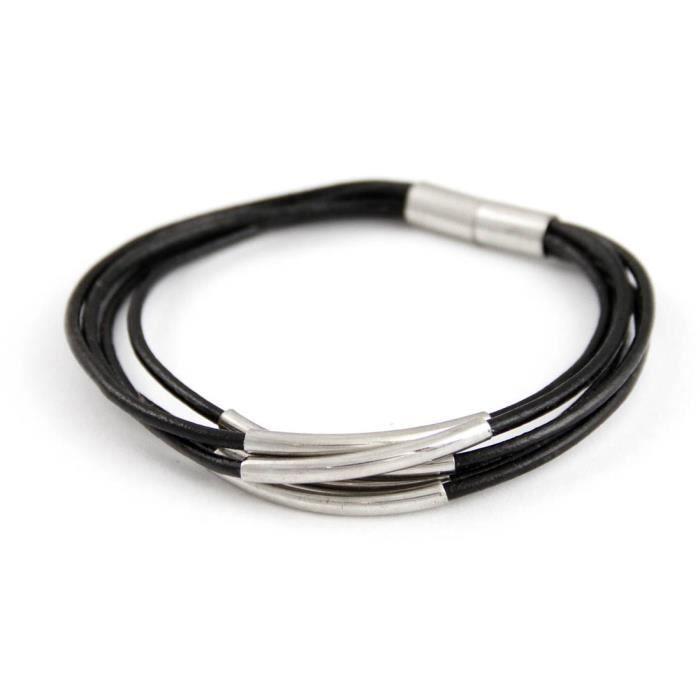 bracelet en cuir femme pas cher. Black Bedroom Furniture Sets. Home Design Ideas