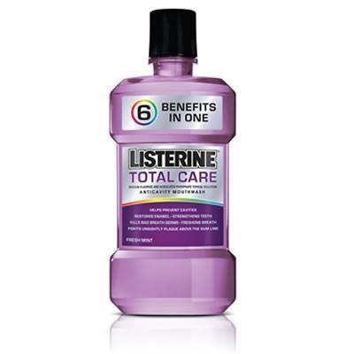 Listerine total care bain de bouche 500 ml achat vente for Bain de bouche antiseptique maison