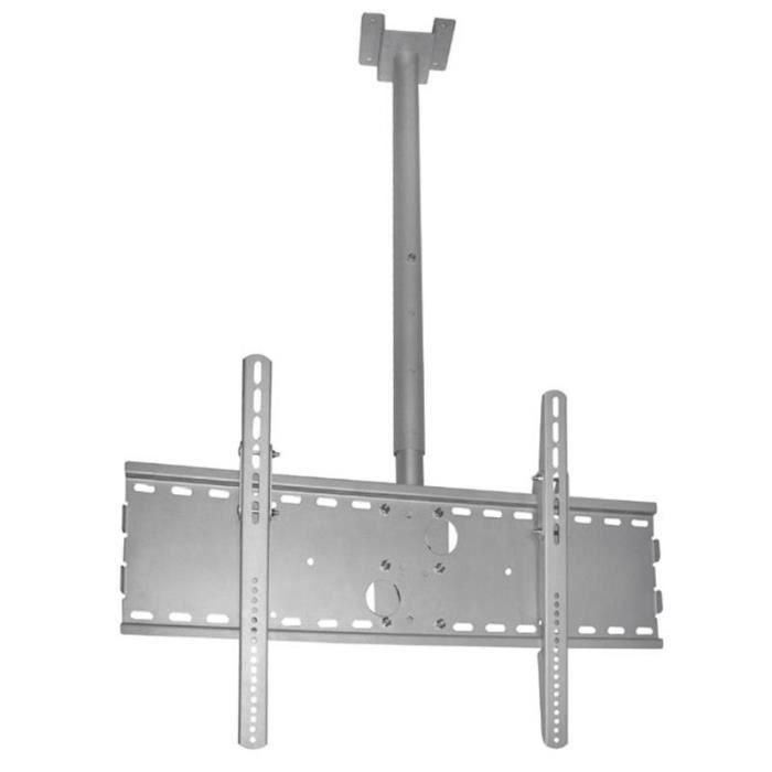support plafond pour cran t l capacit 75kg acier solide fixation support tv avis et. Black Bedroom Furniture Sets. Home Design Ideas