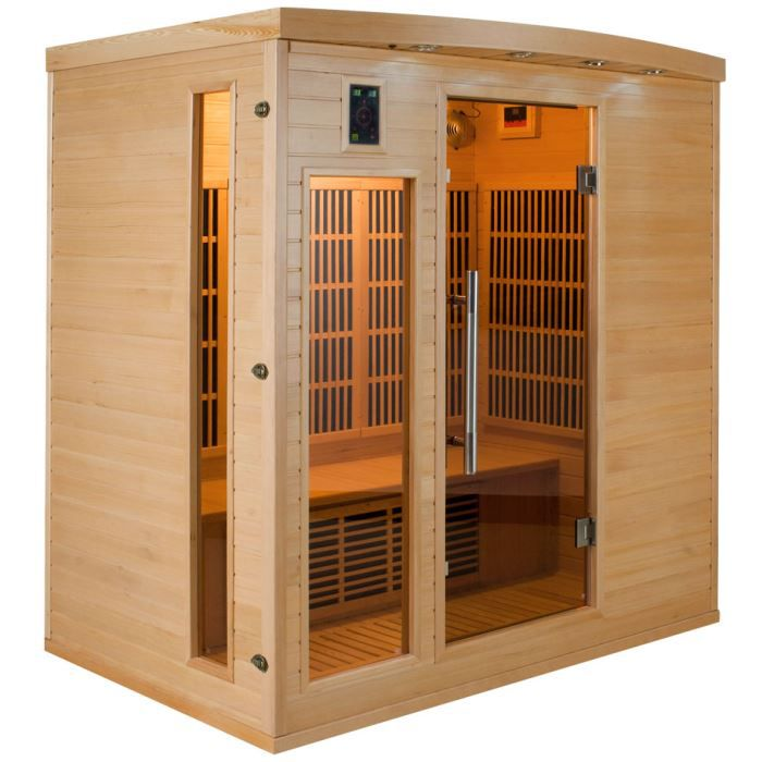 sauna infrarouge apollon 4 personnes achat vente kit sauna sauna infrarouge apollon 4. Black Bedroom Furniture Sets. Home Design Ideas