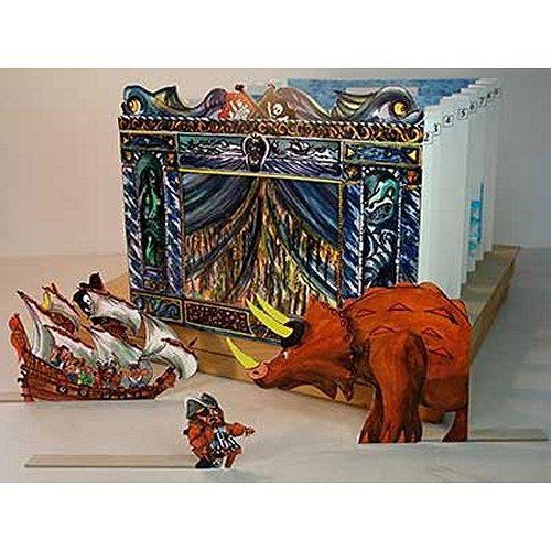 maquette en carton th tre de papier captai achat vente garage batiment maquette en. Black Bedroom Furniture Sets. Home Design Ideas