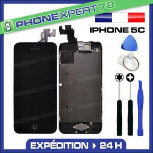 ECRAN DE TÉLÉPHONE Écran complet iPhone 5C noir assemblé