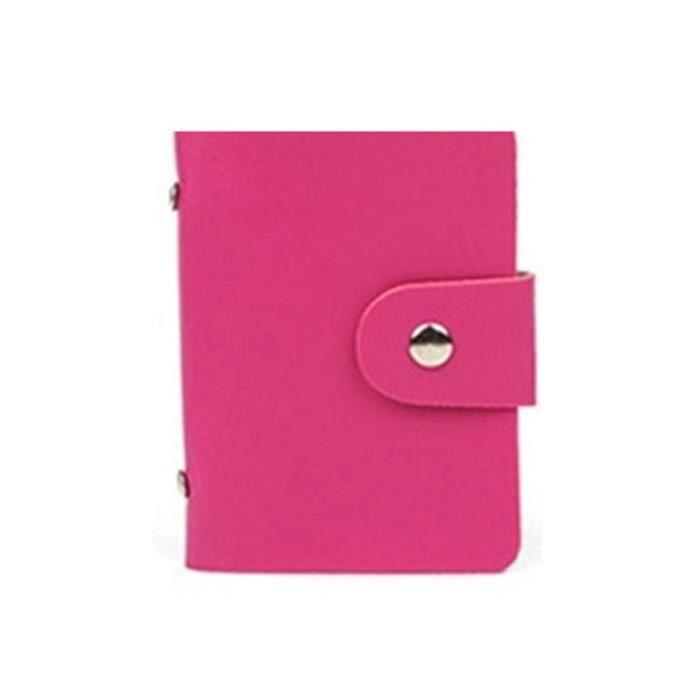 femme assorties banque porte cartes d 39 identit support de sac de poche rouge avec emplacements. Black Bedroom Furniture Sets. Home Design Ideas