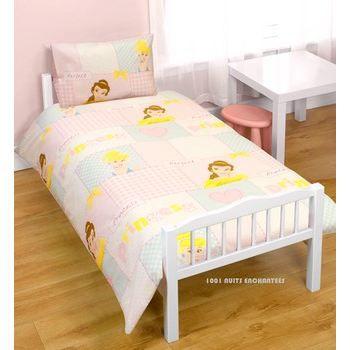 parure de lit b b princesse disney rose achat vente parure de lit b b 5055285324223. Black Bedroom Furniture Sets. Home Design Ideas