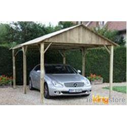 Carport bois autoclave 15 m toit 2 pentes achat vente carport carport bo - Carport bois 2 pentes ...