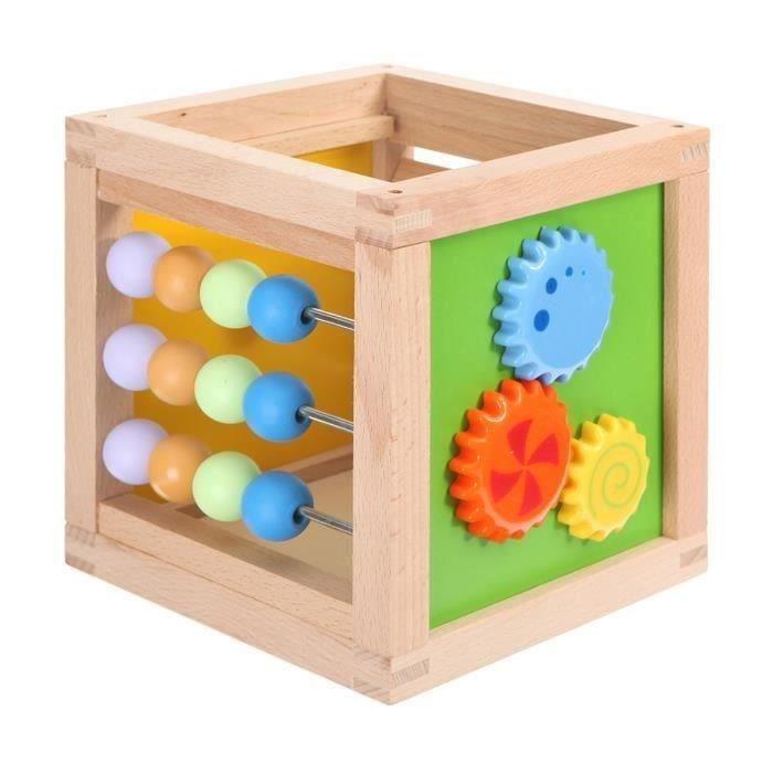 parkfield cube d 39 activit s en bois achat vente cube veil cdiscount. Black Bedroom Furniture Sets. Home Design Ideas