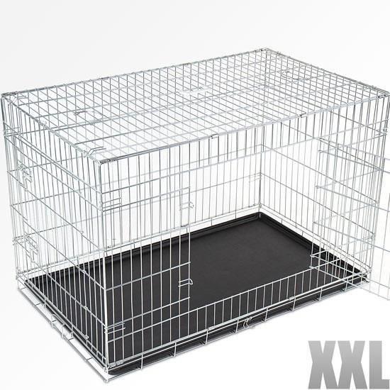 cage de transport pliable pour chien taille xxl achat. Black Bedroom Furniture Sets. Home Design Ideas