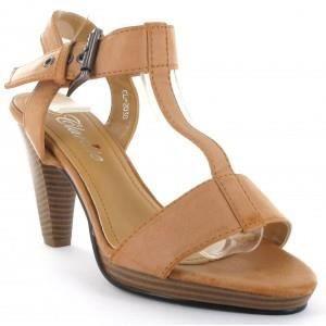 sandales femme camel camel marron camel achat vente sandale nu pieds cdiscount. Black Bedroom Furniture Sets. Home Design Ideas