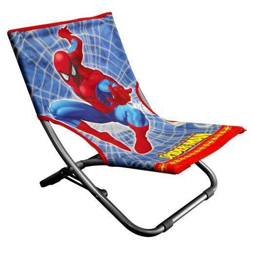 chaise longue pliable spiderman achat vente fauteuil. Black Bedroom Furniture Sets. Home Design Ideas