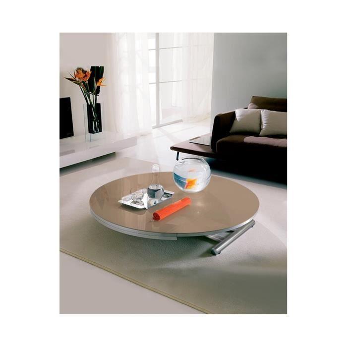 Table basse relevable et extensible avec 2 allonge achat - Table allonge bebe ...