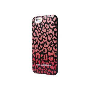 Karl Lagerfeld KARL0018 Coque en TPU pour iPhone 6 Plus Kamouflage Rose