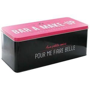 Boîte en Métal Bar ? Make Up