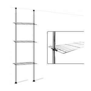 etageres salle de bain chrome achat vente etageres. Black Bedroom Furniture Sets. Home Design Ideas