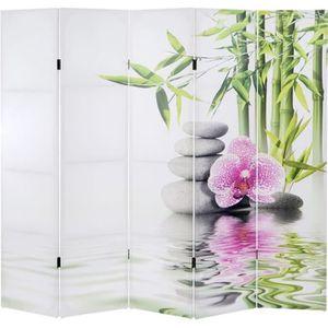 paravent zen achat vente paravent zen pas cher soldes cdiscount. Black Bedroom Furniture Sets. Home Design Ideas
