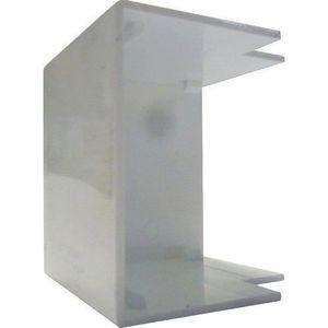 GOULOTTE - CACHE FIL Electraline 660022 Angle extérieur 2 pièces
