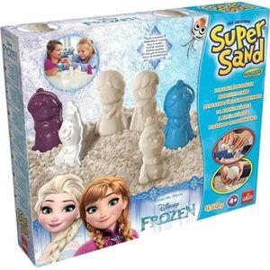 JEU DE SABLE À MODELER LA REINE DES NEIGES Super Sand Disney