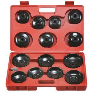 coffret de 14 cloches filtres à huile 0,3