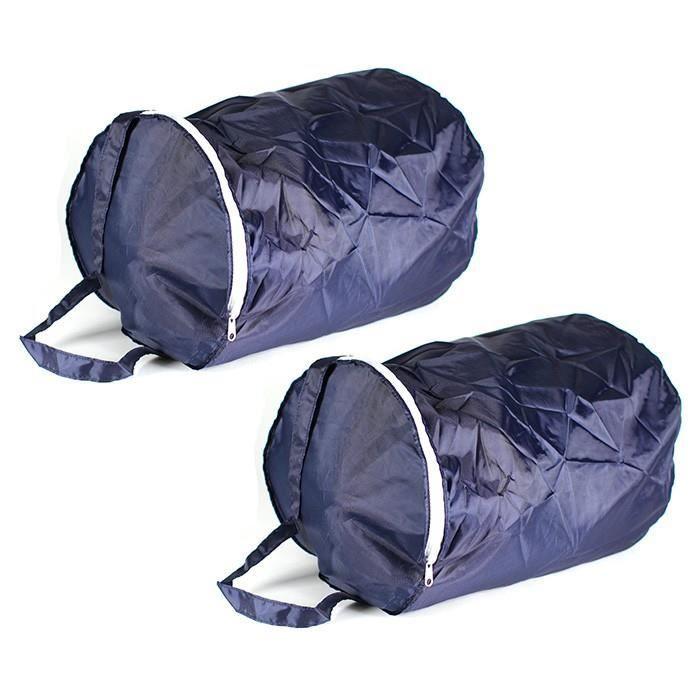 housse de rangement housses de rangement 24l pour couettes et sacs de couchage lot de 2. Black Bedroom Furniture Sets. Home Design Ideas