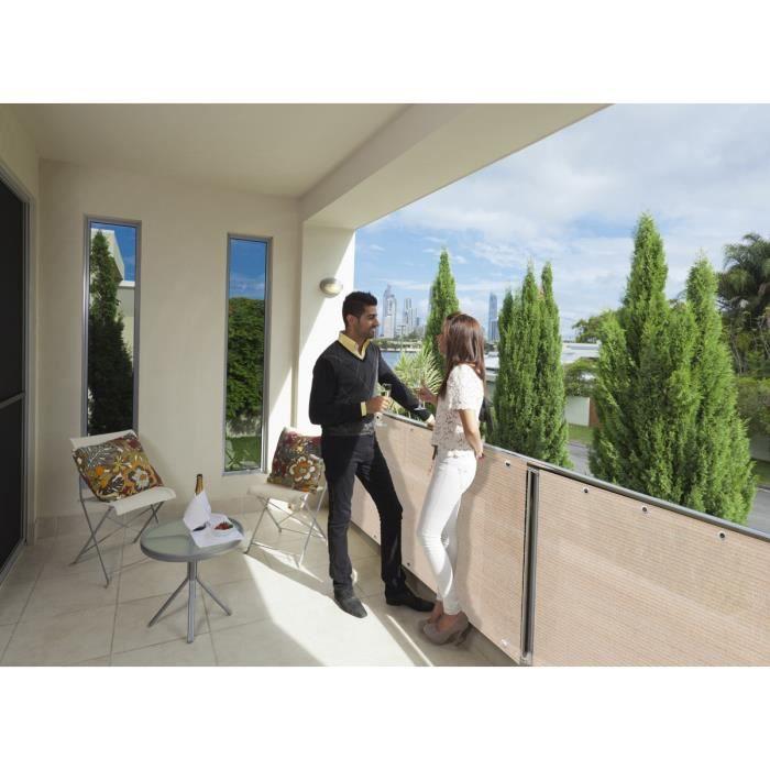 brise vue pour grillage 500 x cm sable achat vente cl ture grillage brise vue pour. Black Bedroom Furniture Sets. Home Design Ideas