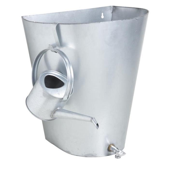 R cup rateur d 39 eau de pluie en zinc achat vente collecteur eau cuve r cup rateur d 39 eau de - Recuperateur eau de pluie occasion ...