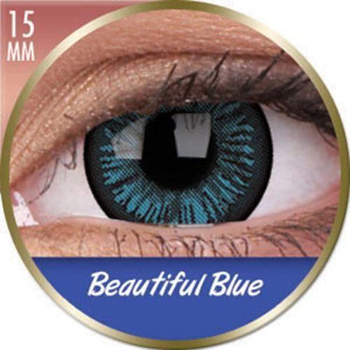 Lentilles Big Eyes Beautiful Blue bleues Phanta Bleu Achat