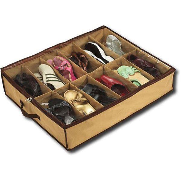 Rangement chaussures sous lit - Castorama rangement chaussures ...