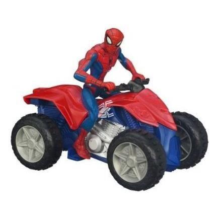 Figurine personnage quad electronique spiderman - Quad spiderman ...