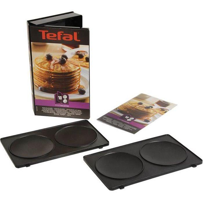 Tefal coffret pancake 2 plaques pour snack collection xa801012 achat vente pi ce de - Plaque tefal snack collection ...