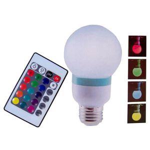 lampe qui change de couleur telecomande achat vente lampe qui change de couleur telecomande. Black Bedroom Furniture Sets. Home Design Ideas