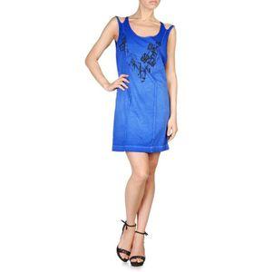 ROBE DIESEL robe courte femme TUBUBU bleu
