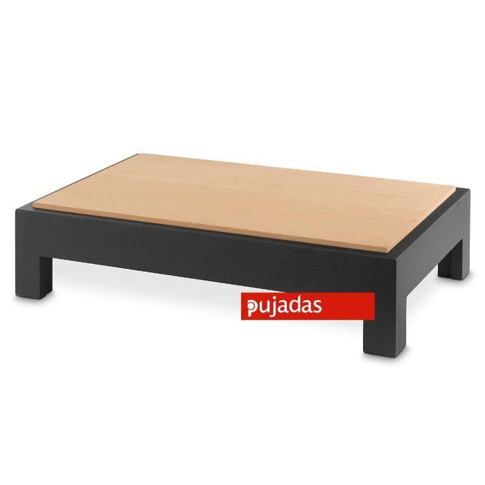 Table basse en bois planche d couper cubic saro achat vente table basse table Table basse planche bois