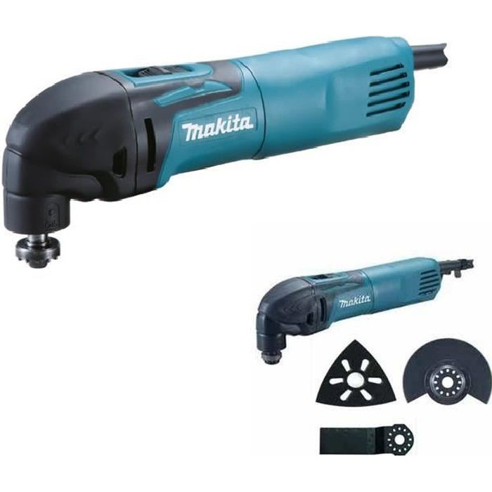 Outils multifonctions oscillation makita tm achat vente outil mult - Outil multifonction black et decker 300w ...