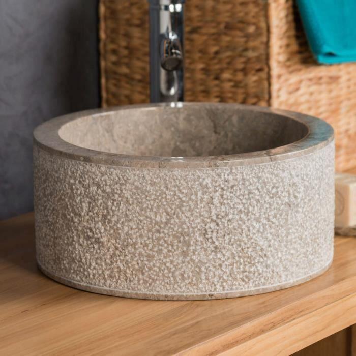 vasque 35cm lave main salle de bain en marbre e achat vente lavabo vasque vasque 35cm. Black Bedroom Furniture Sets. Home Design Ideas